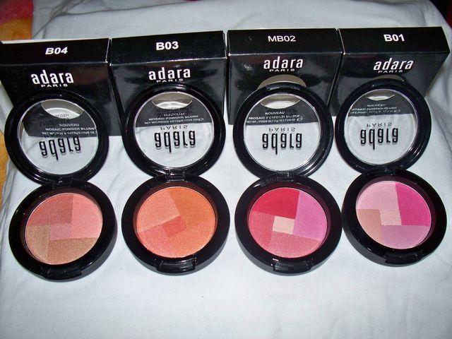 RUBOR MOSAICO -  Cosmeticos Adara Paris, Esmalte Kleancolor, Krakelados 360° y Encapsuladores