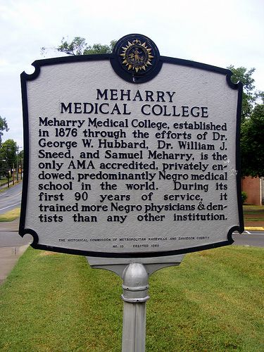 Meharry Medical College is the oldest historically Black Medical School in the nation and ranks #2 nationally in conferring medical degrees to African Americans.