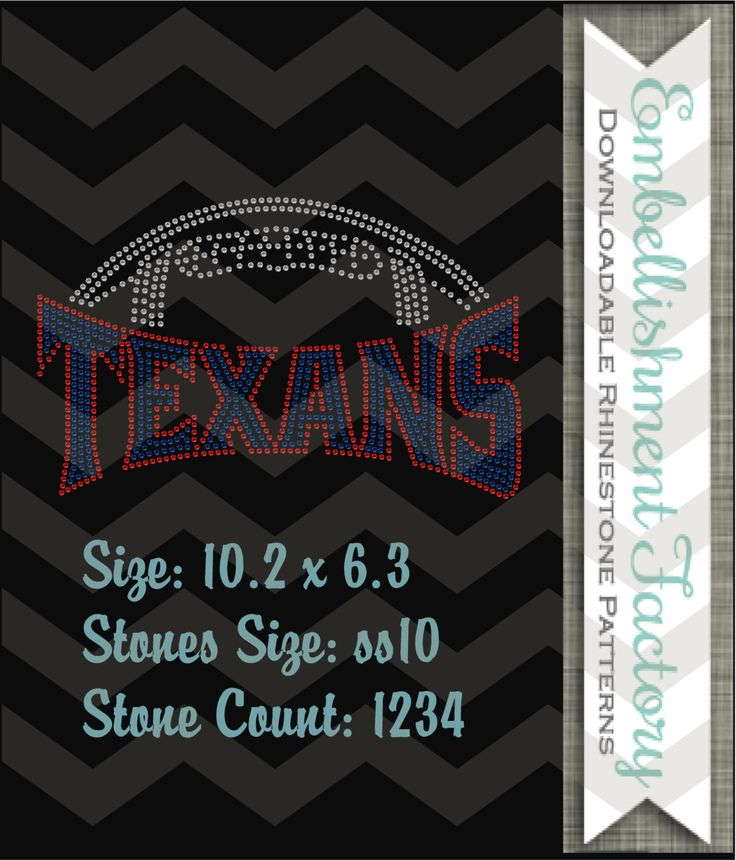 1000+ images about Football Rhinestone Templates on Pinterest ...