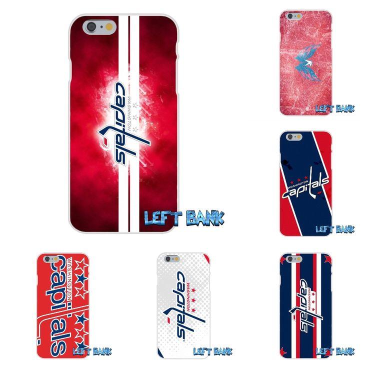 Washington Capitals Hockey Logo Soft Silicone TPU Transparent Case For Sony Xperia Z Z1 Z2 Z3 Z5 compact M2 M4 M5 Aqua #Affiliate