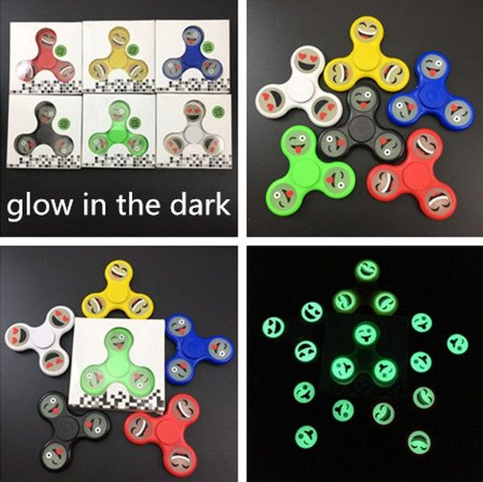 Wholesale Gag Toys & Practical Jokes - Fidget Hand Spinner - Emoji - Glow In The Dark. Gag And Practical Joke Toys, Wholesale Toys & Games, Enewwholesale.com