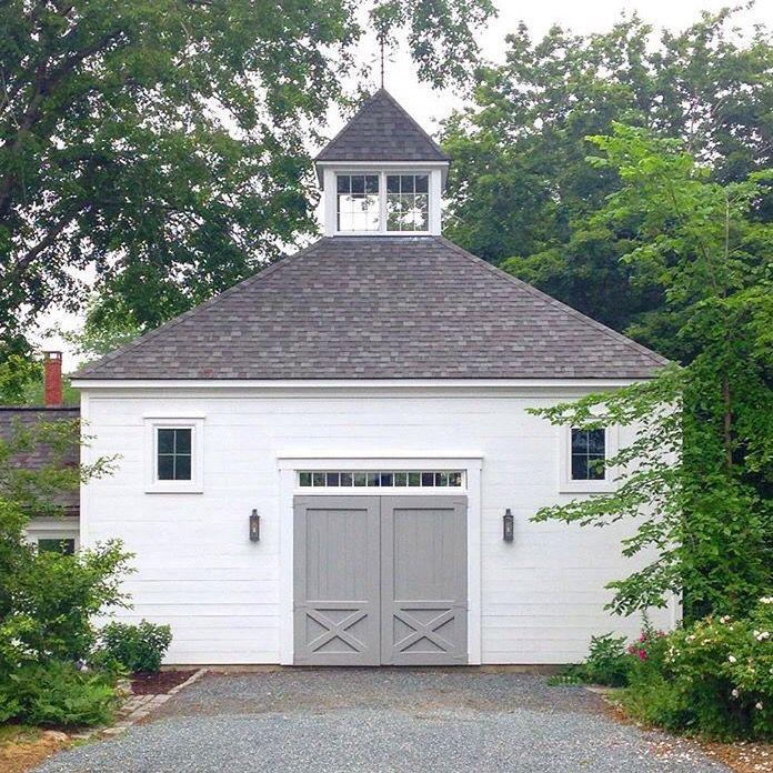 A garage & storage area