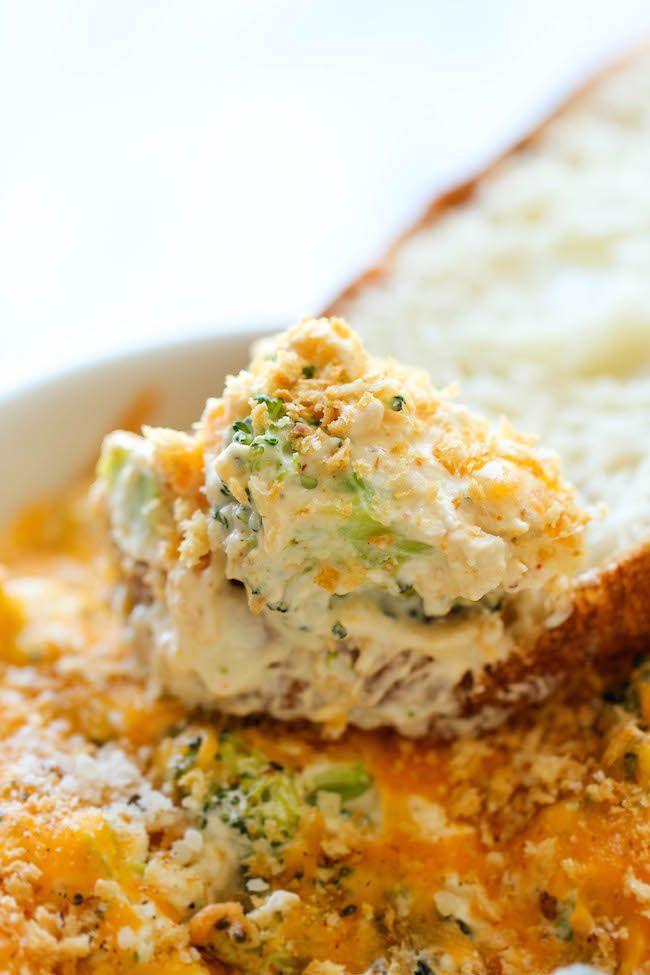 gebakken broccolidip
