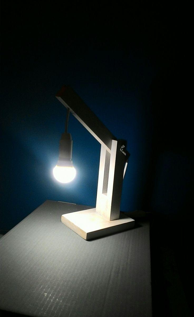 Wood lamp diy