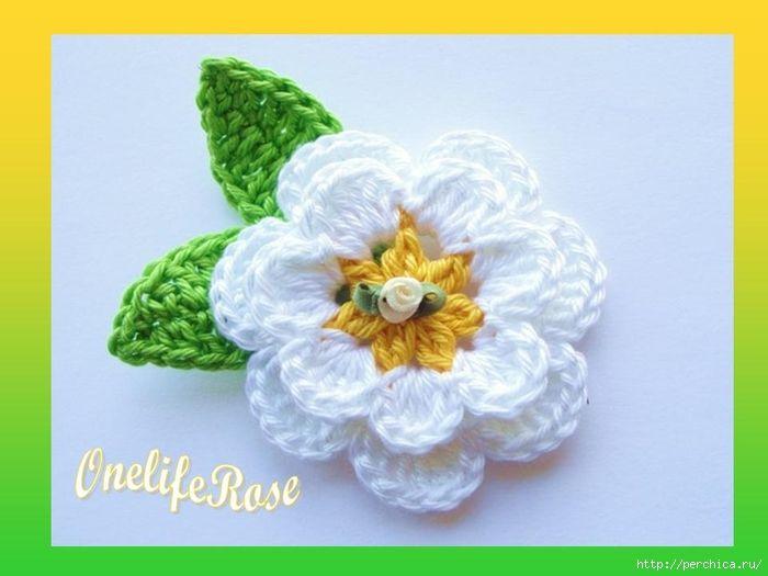 Мобильный LiveInternet Мастер-класс и схемы ирландской розы связанной крючком   Ирина_Зелёная - Всё самое модное, интересное и вкусное вы найдёте у perchica   