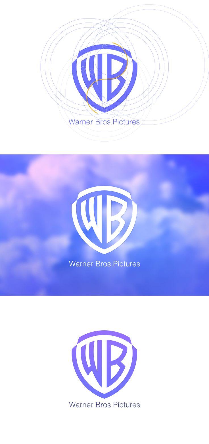 Redesign Logo Warner Bros. Pictures on Behance