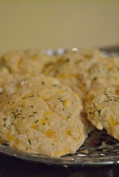 Simple from scratch garlic cheddar biscuits recipe, a real food