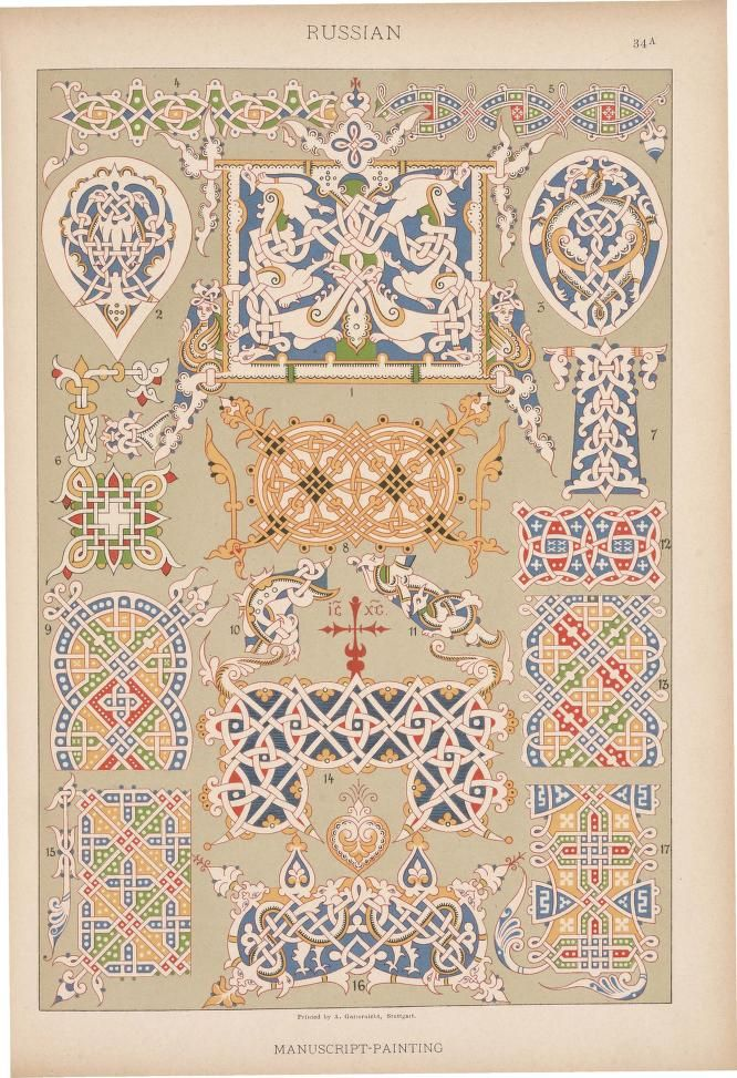 E. Hochdanz, translated from the German by H. Dolmetsch, Historic styles of ornament, London, Batsford and Holborn, 1898