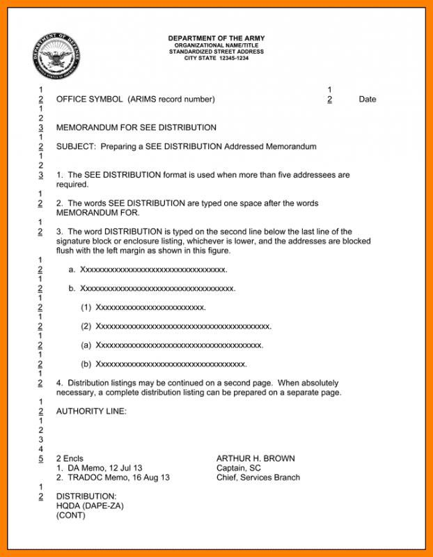Army Memorandum For Record Check More At Https Nationalgriefawarenessday Com 49519 Army Memorandum For Record