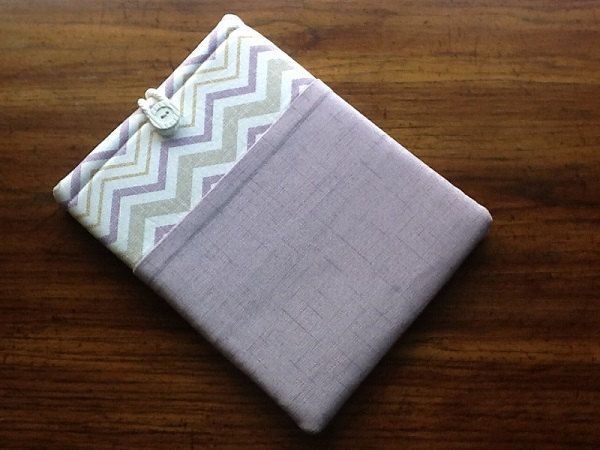 IPad Pro Sleeve Cover, Samsung Galaxy Tab2 Cover Sleeve, Nook HD Cover Sleeve, IPad Cover Sleeve,Lilac Chevron Print Tablet Cover by LindaLeasBoutique on Etsy