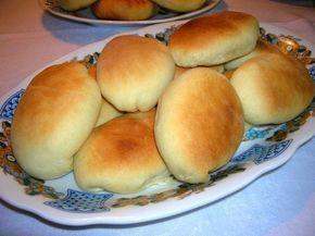 Пирожки из хрущёвского теста с рисом и яйцом / Рецепты с фото