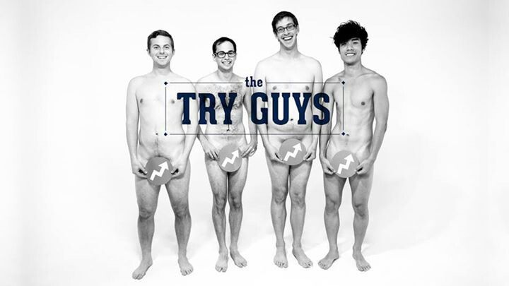 Ned Fulmer // Zach Kornfeld // Keith Habersberger // Eugene Lee Yang // Buzzfeed // The Try Guys