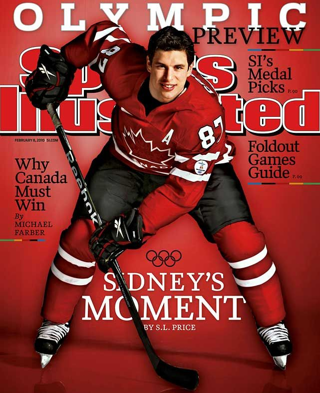 Our golden boy! Sidney Crosby.