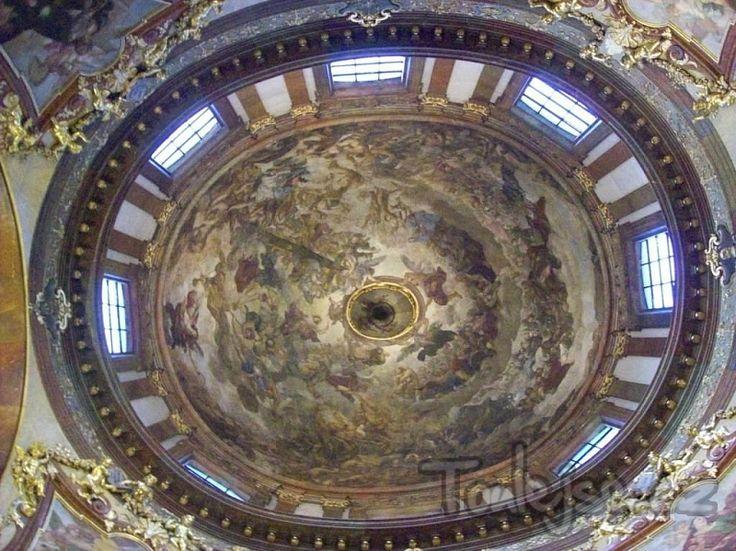 Václav Vavřinec Reiner - poslední soud - Kostel sv. Františka z Assisi Praha