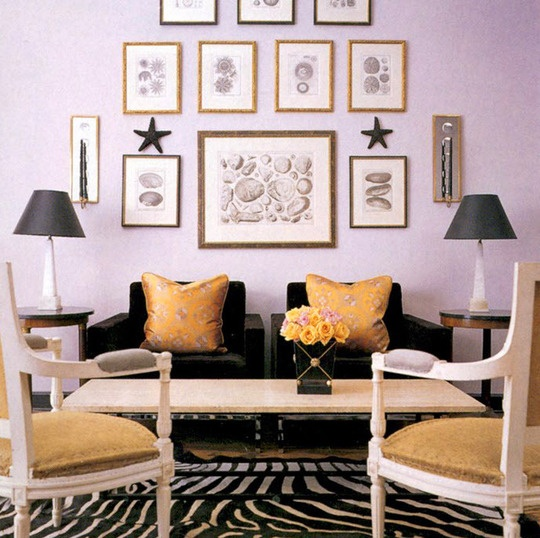 25 best ideas about lavender living rooms on pinterest for Lilac living room walls