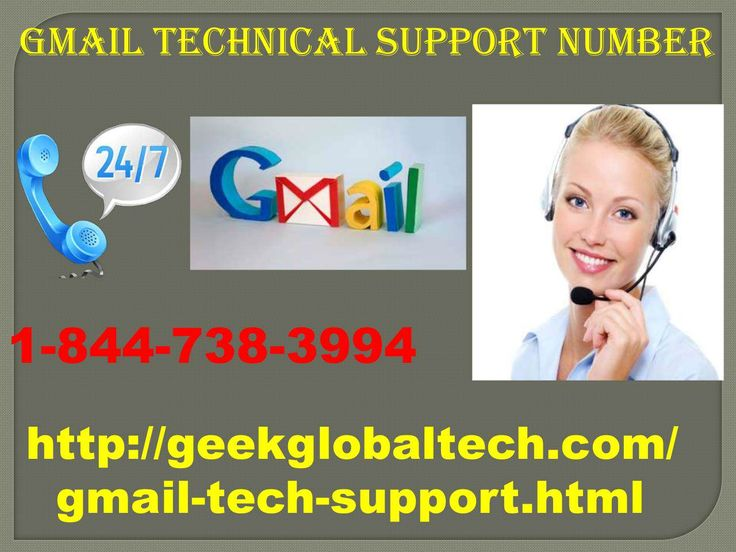Any help for Gmail account, please contact our Gmail Tech Support 1-844-738-3994 and discuss your problem in our technicians. Our technicians are available for 24*7 and 365 days in USA and CANADA