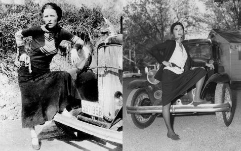 a biography of bonnie parker Bonnie and clyde in march 1933 in a photo found by police at an abandoned hideout bonnie elizabeth parker (october 1, 1910 – may 23, 1934.