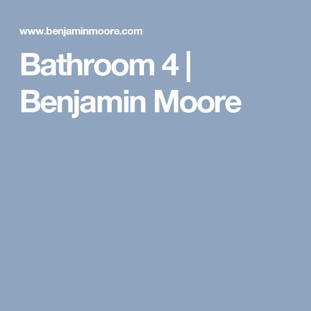 Benjamin Moore Bathroom Colors: 1000+ Ideas About Benjamin Moore Bathroom On Pinterest