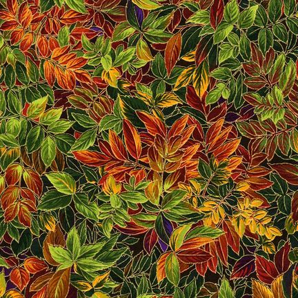 Robert Kaufman Fabrics: ESKM-6641-199 ANTQ from Nature's Brilliance 4