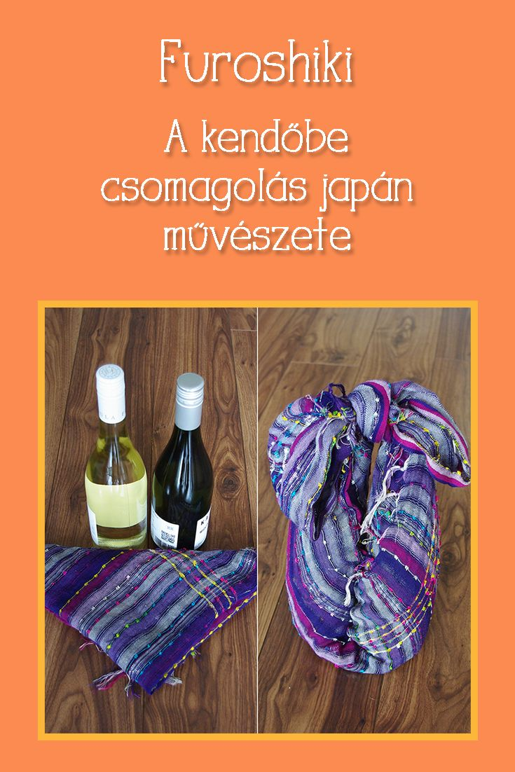 Látványos és kevés kellékes csomagolási mód a messzi Japánból...