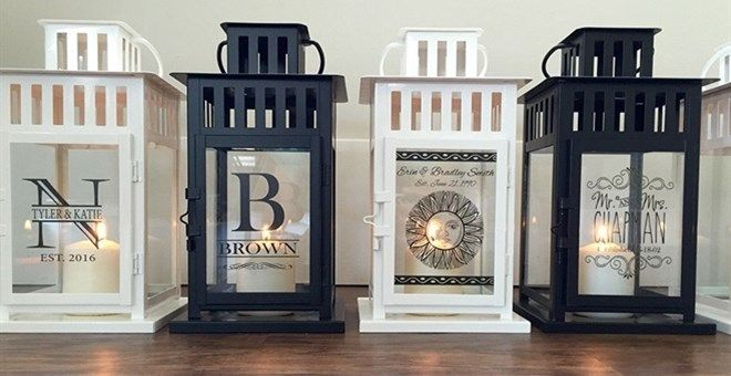 Our beautiful Personalized Lanterns are the perfect gift, and add a uniquely…