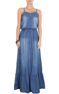 MARKET 33 - Vestido longo Market 33 jeans - OQVestir