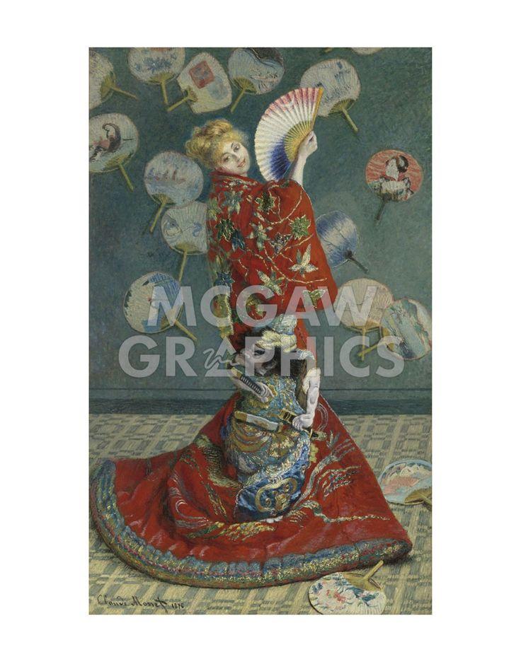 La Japonaise (Camille Monet in Japanese Costume), 1876