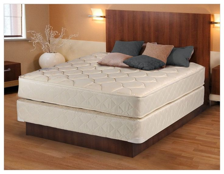 mattress and box spring without frame - Box Springs Queen