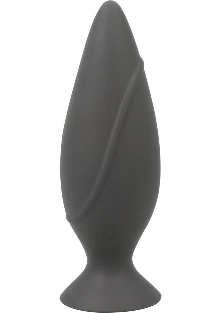 Buy Corked Silicone Anal Plug Waterproof Small Charcoal online cheap. SALE! $10.49