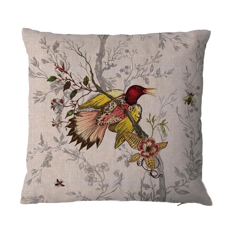 Timorous Beasties Cushions - Woodpecker Cushion