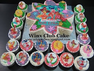 Winx Club Cake....... my daughters favorite cartoon