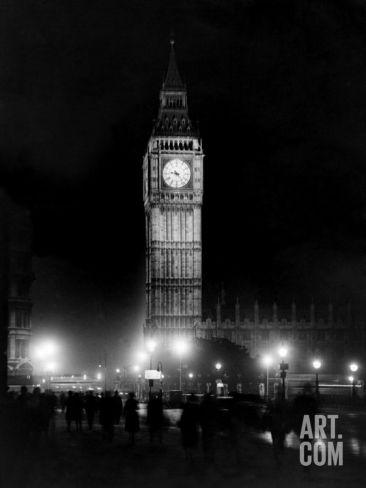 Big Ben circa 1936 Photographic Print at Art.com