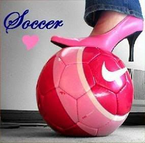 Soccer and heels describes me perfectly