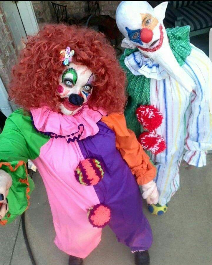 Halloween costumes diy killer clowns by Rebel Marys Designs