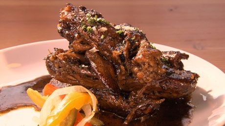 These Chuck Norris Duck Wings are as hardcore as they sound. Try them at #BeerGeeks on #OraTV!