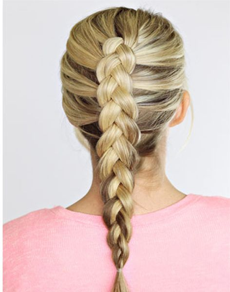 French Inverted Braided Hairstyles