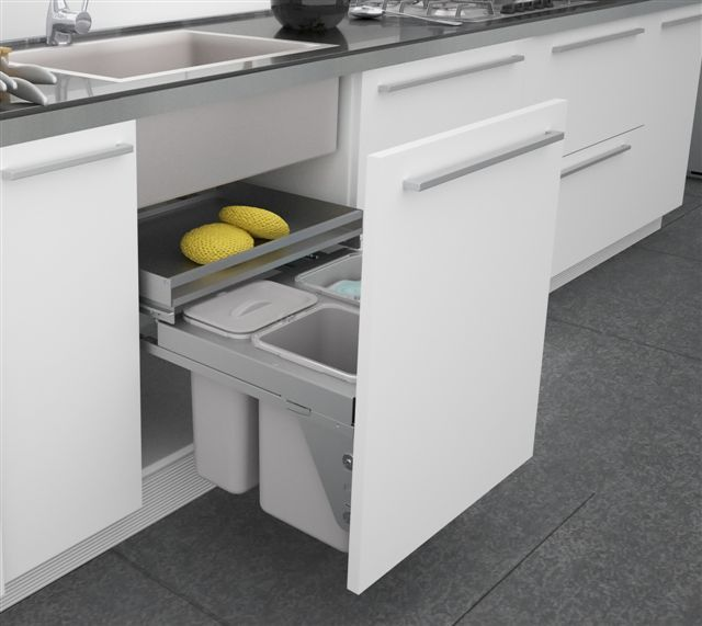The Ideal Kitchen Under Sink Drawers: 21 Best Under Sink Kitchen Storage Images On Pinterest