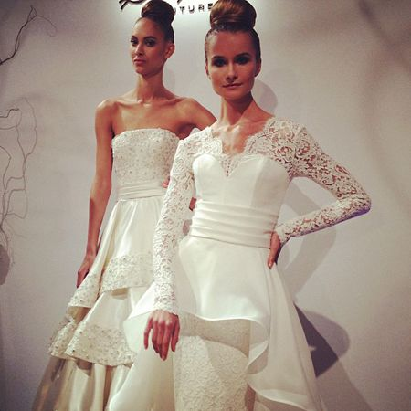 Dennis Basso Wedding Dresses Fall 2013: First Look : Brides
