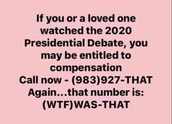 Pin By Jo Bronsteatter On Makes Me Smile Presidential Debate Bones Funny Memes