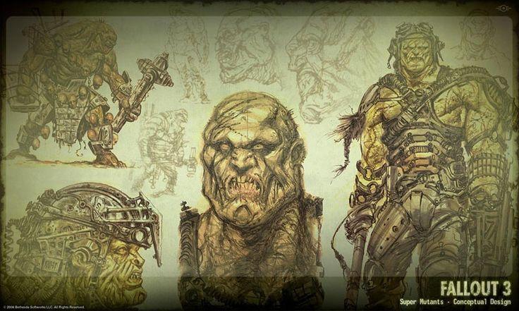 Fallout 3 Mutants concept 2.