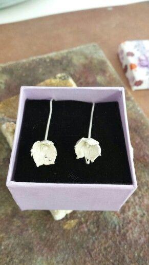 Snowbell earrings
