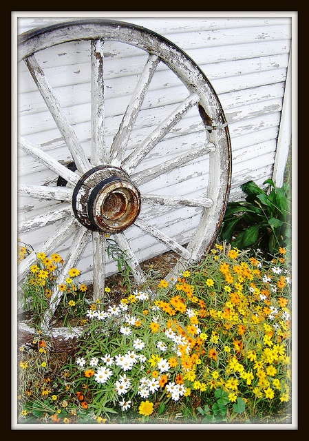 Wagon Wheel.... Wanna distress my wheel now too!! Lol