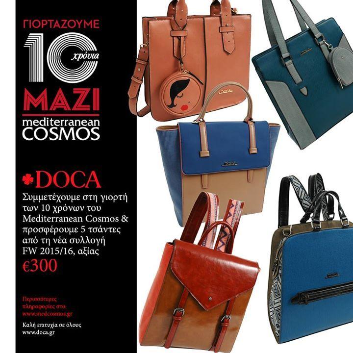 Εσύ πήρες μέρος για τις 5 καταπληκτικές τσάντες; #docaholic #thessaloniki Mediterranean Cosmos