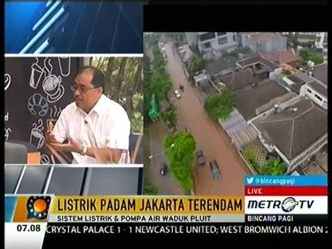 Apakah Benar Banjir Jakarta 2015 'Sabotase' ??? Listrik Padam Jakarta Te...