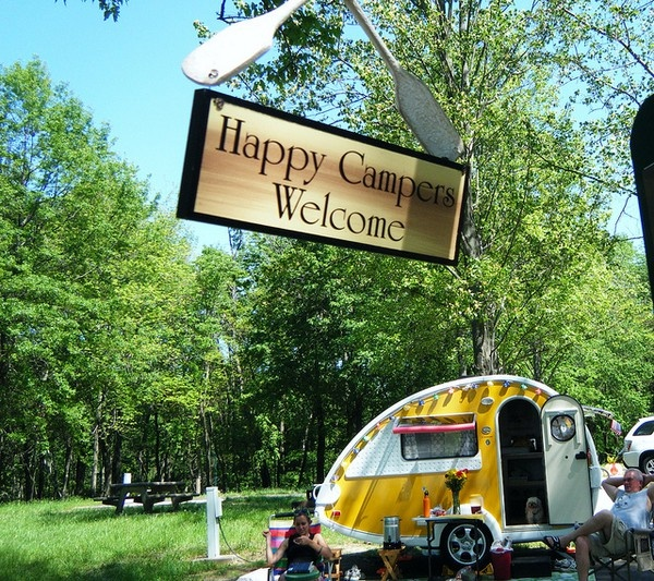 Happy Campers Welcome :)