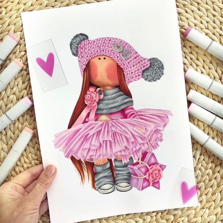публикуете посте цветные картинки с тильдами настоящее время все