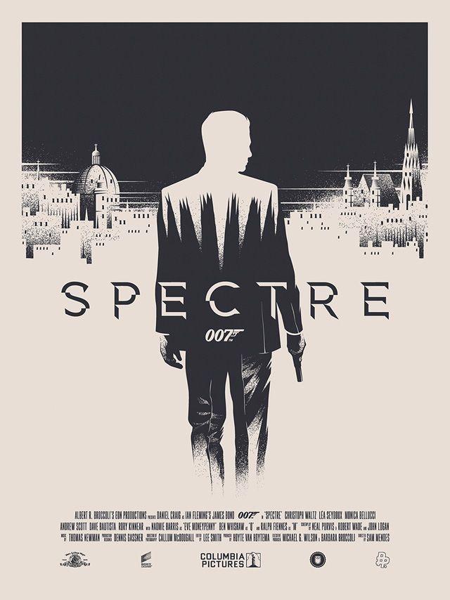 Les affiches Fan Art de SPECTRE : golem13