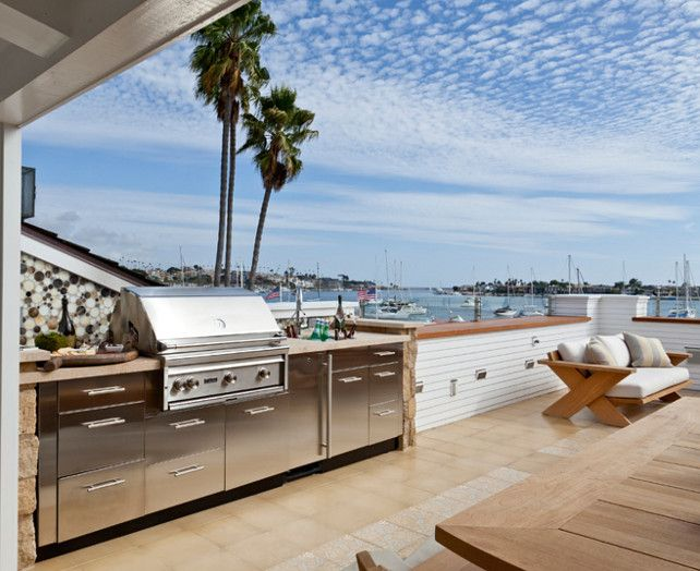 1057 best images about roof terrace dakterras on for California outdoor kitchen designs
