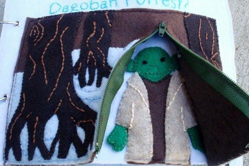 """Get your nerd on and DIY your own Star Wars-themed """"quiet book"""" 