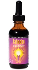Beyond lapachol, Taheebo is a phyto-nutrient powerhouse. Also unlike most Taheebo commonly available as dried bark in loose tea or capsule form, ours is 100% liquid extract from the purple Lapacho tree, ideal for mixing with other liquids. 20708405